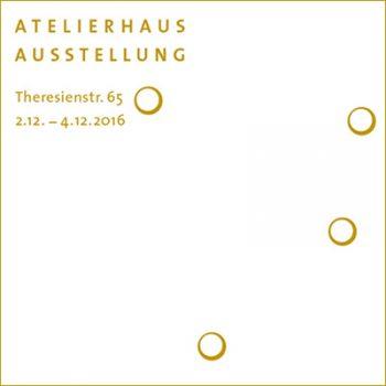 2016 Atelierhaus Theresienstr München Ausstellung Vorschau
